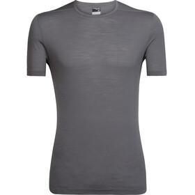 Icebreaker Zeal Shortsleeve Shirt Men grey